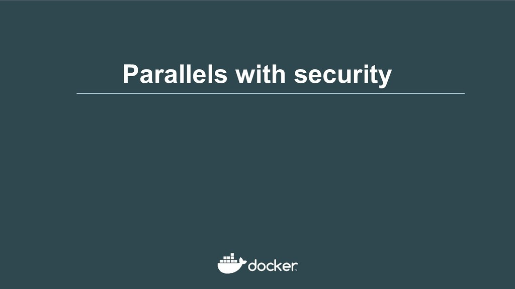 Parallels with security