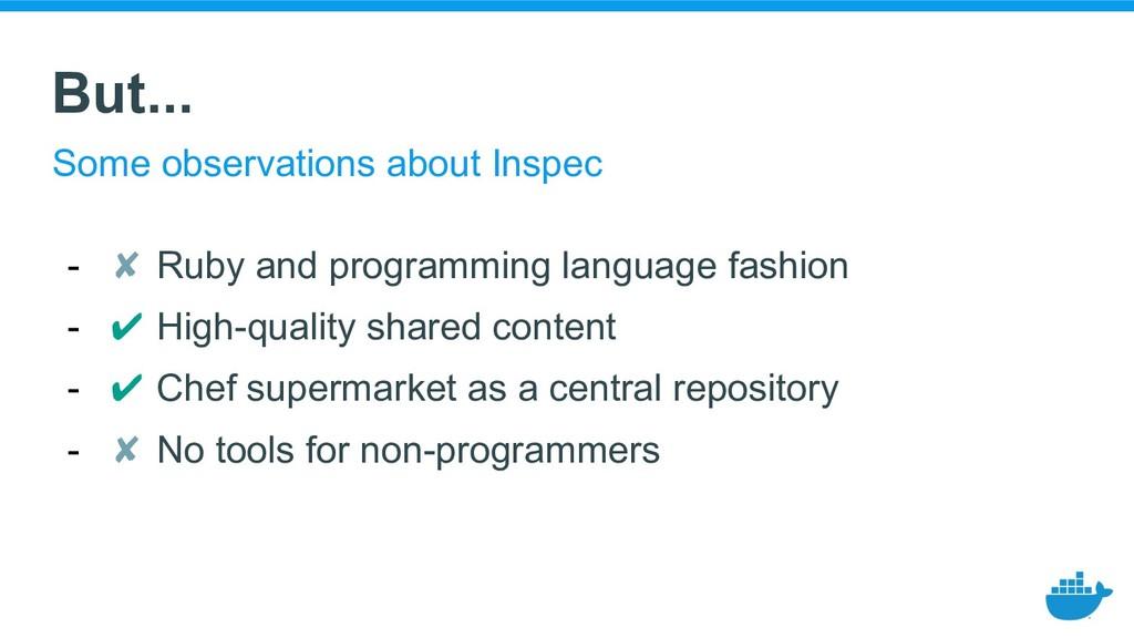 - ✘ Ruby and programming language fashion - ✔ H...