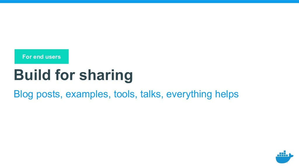 Build for sharing Blog posts, examples, tools, ...
