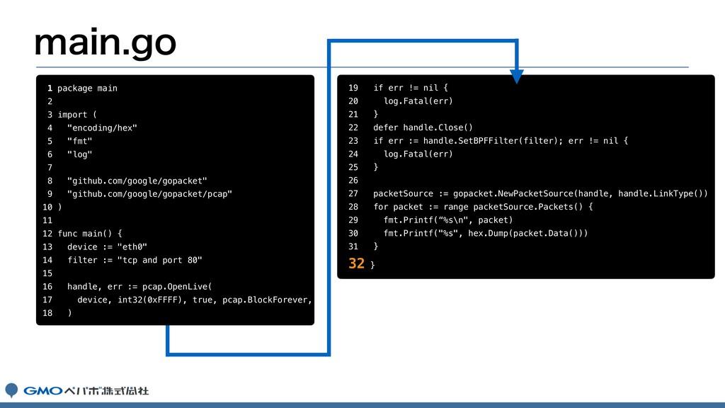 "NBJOHP 1 package main 2 3 import ( 4 ""encoding..."