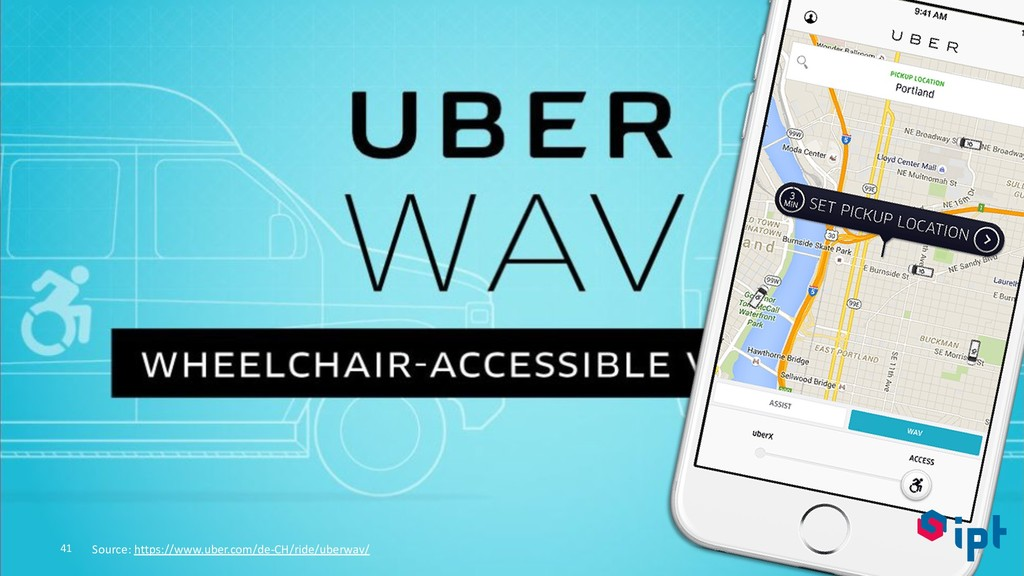 41 Source: https://www.uber.com/de-CH/ride/uber...