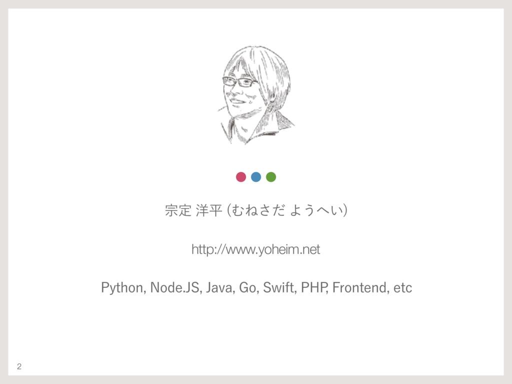 2 फఆ༸ฏ ΉͶͩ͞Α͏͍  http://www.yoheim.net 1ZUIP...