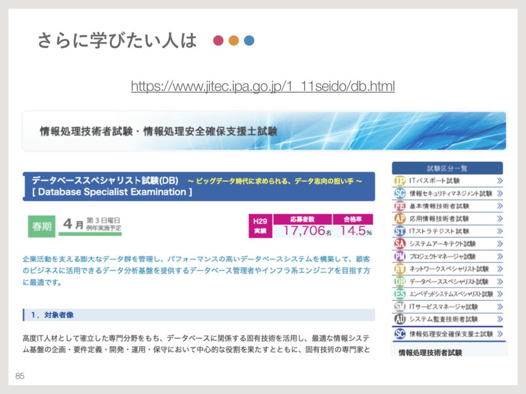 85 ͞Βʹֶͼ͍ͨਓ https://www.jitec.ipa.go.jp/1_11se...