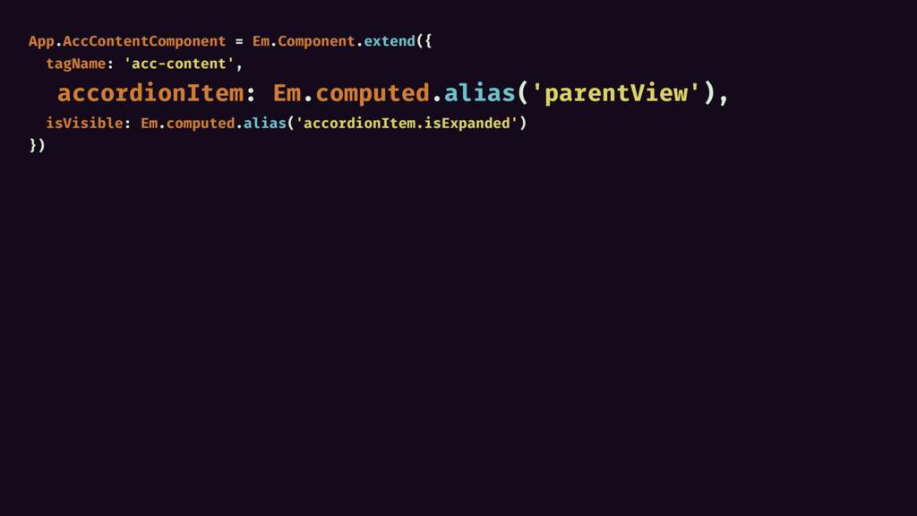 App.AccContentComponent = Em.Component.extend({...