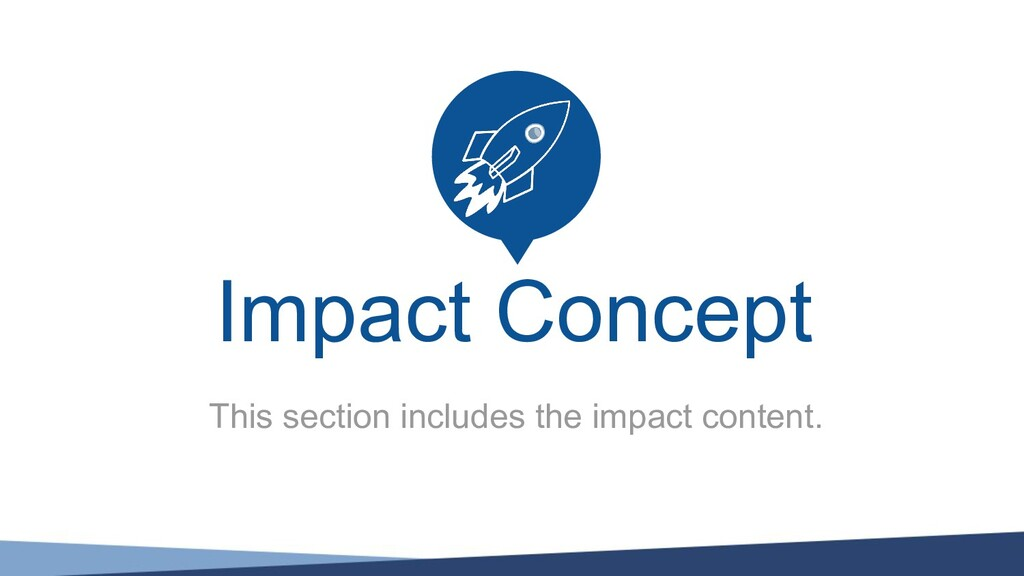 This section includes the impact content. Impac...