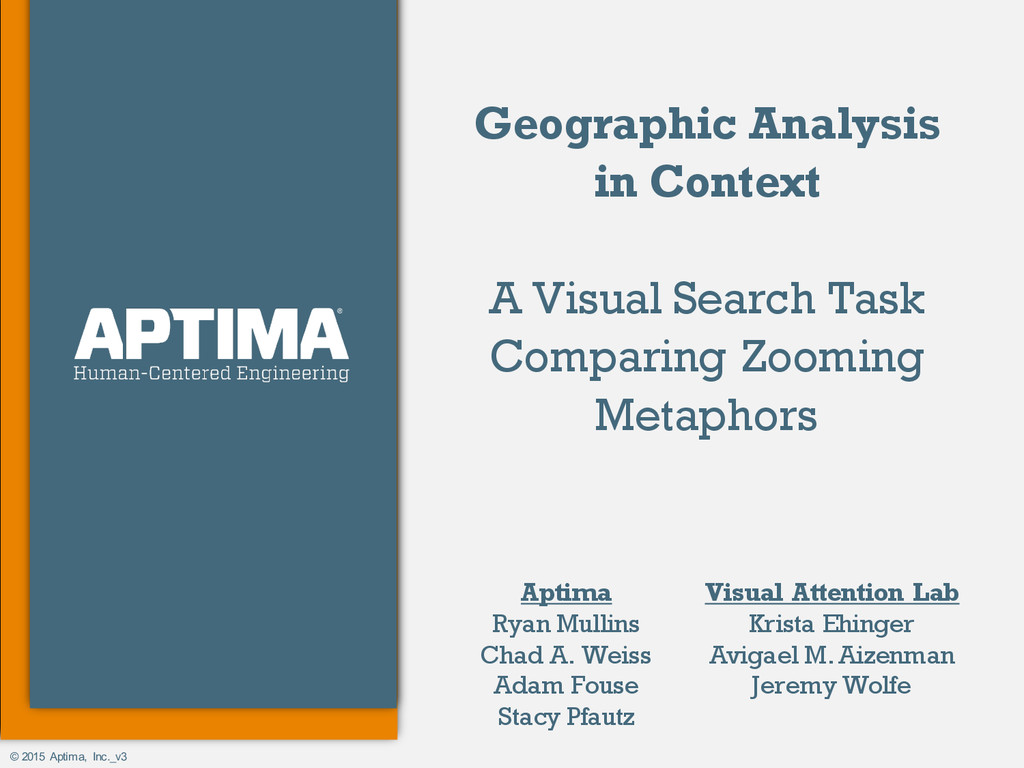 © 2015 Aptima, Inc._v3 Geographic Analysis in C...