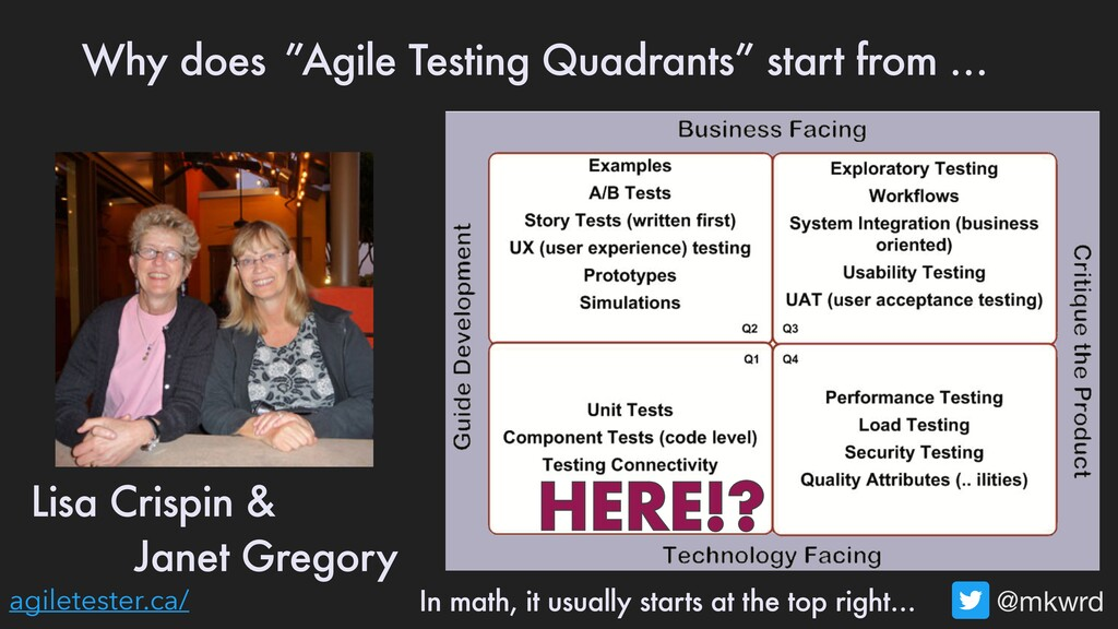 @mkwrd agiletester.ca/ Why does start from … HE...