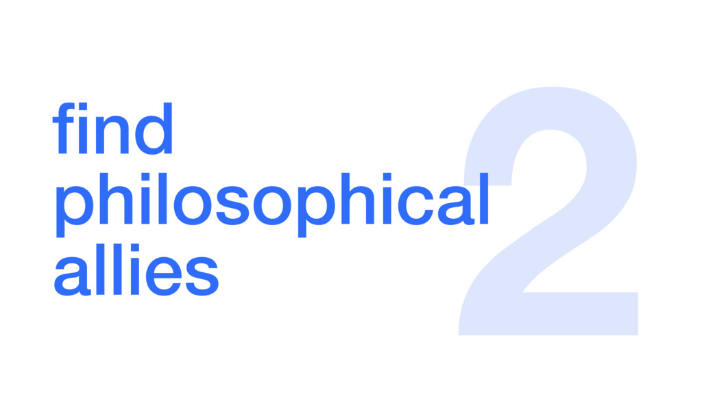 find  philosophical allies 2