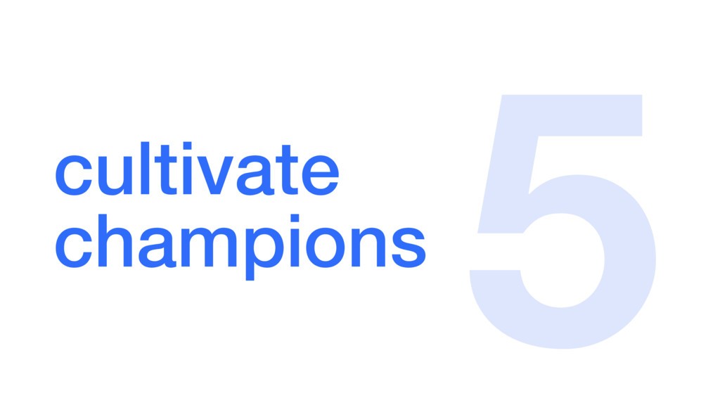 cultivate champions 5