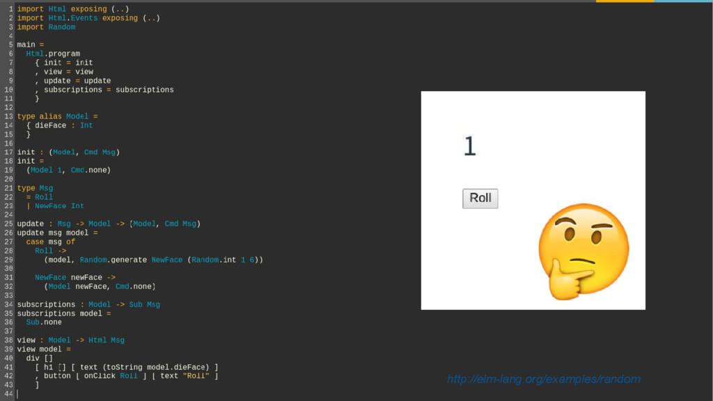 http://elm-lang.org/examples/random