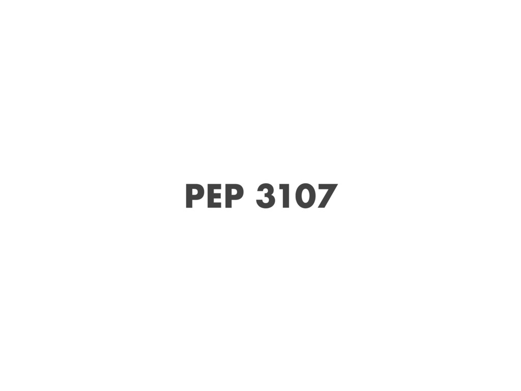 PEP 3107