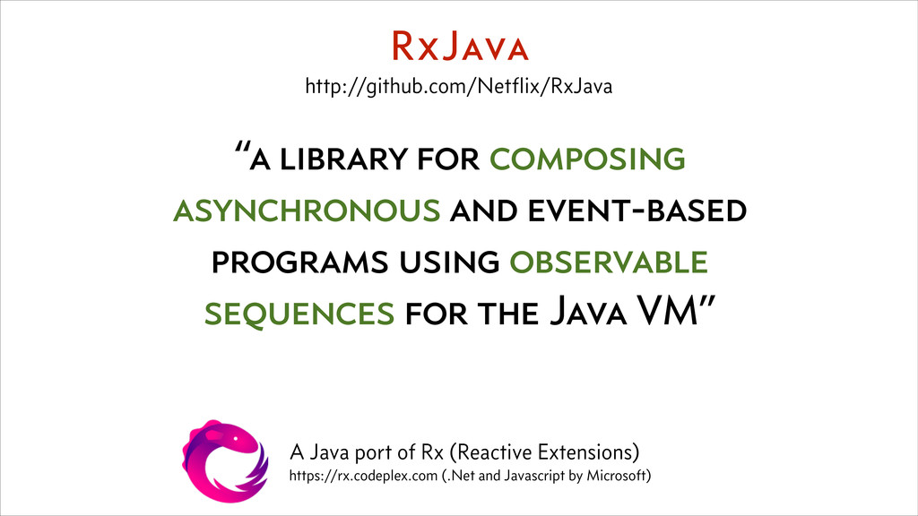 """a library for composing asynchronous and event..."