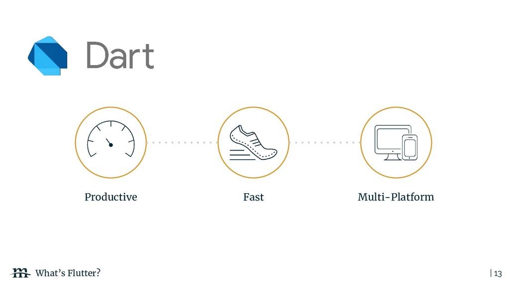 | 13 What's Flutter? Productive Multi-Platform ...