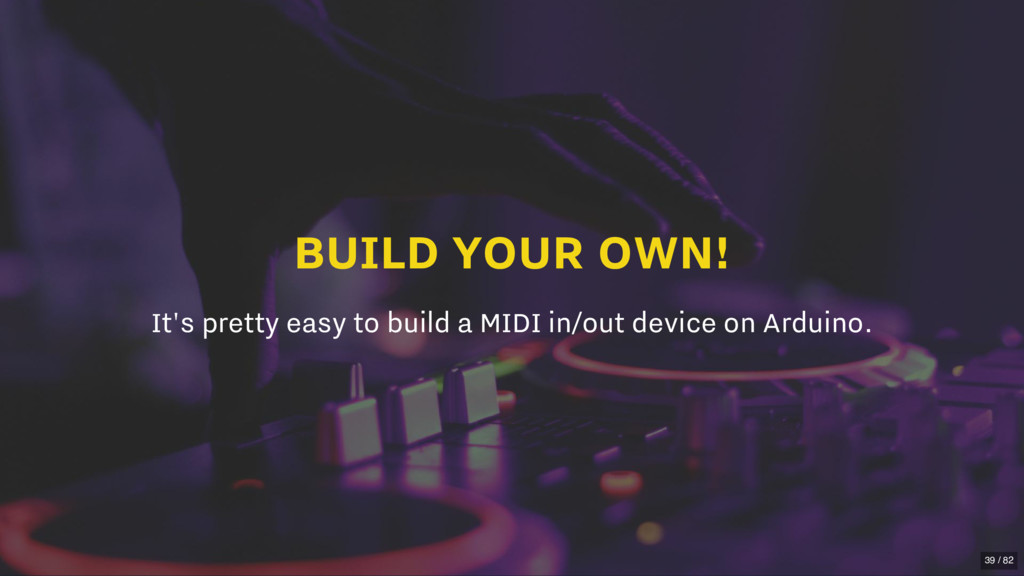 BUILD YOUR OWN! It's pretty easy to build a MID...