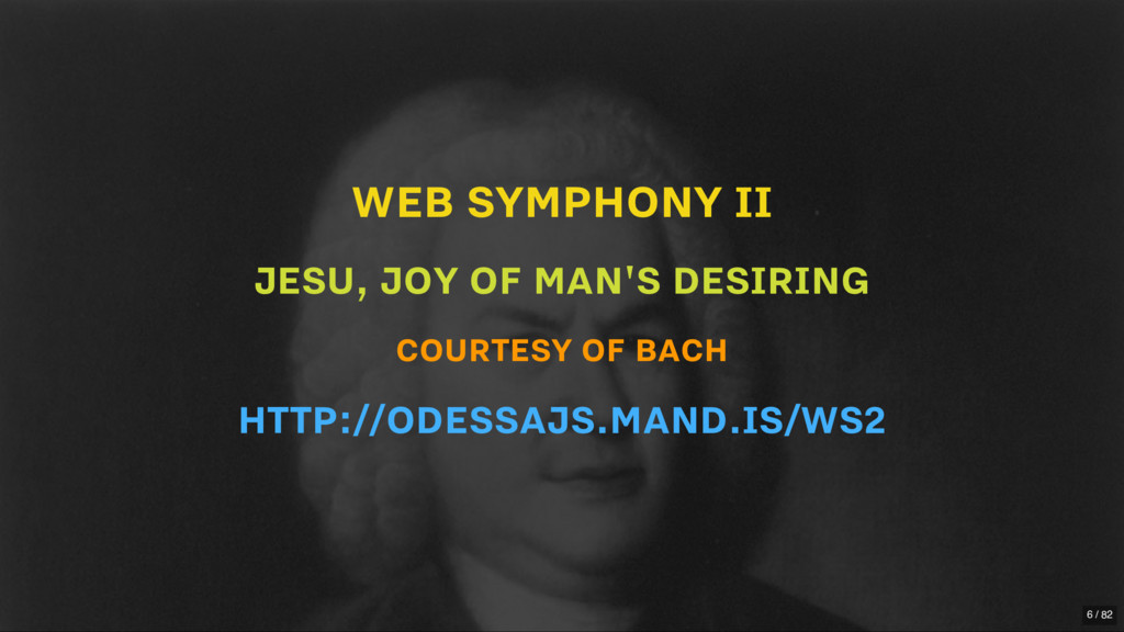 WEB SYMPHONY II JESU, JOY OF MAN'S DESIRING COU...