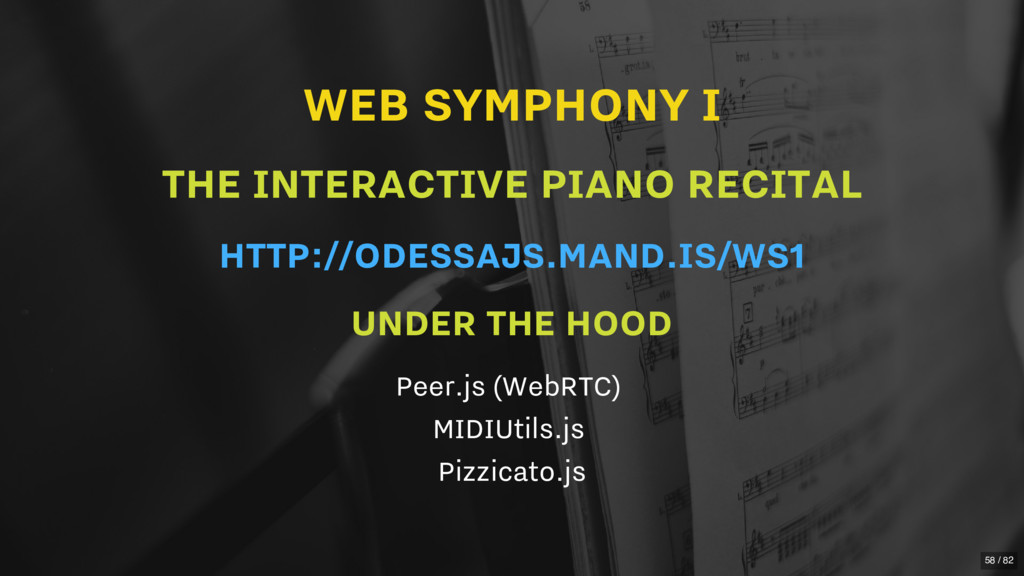 WEB SYMPHONY I THE INTERACTIVE PIANO RECITAL UN...
