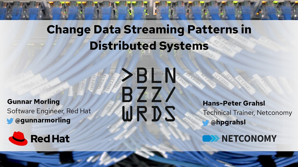 Change Data Streaming Patterns in Distributed S...