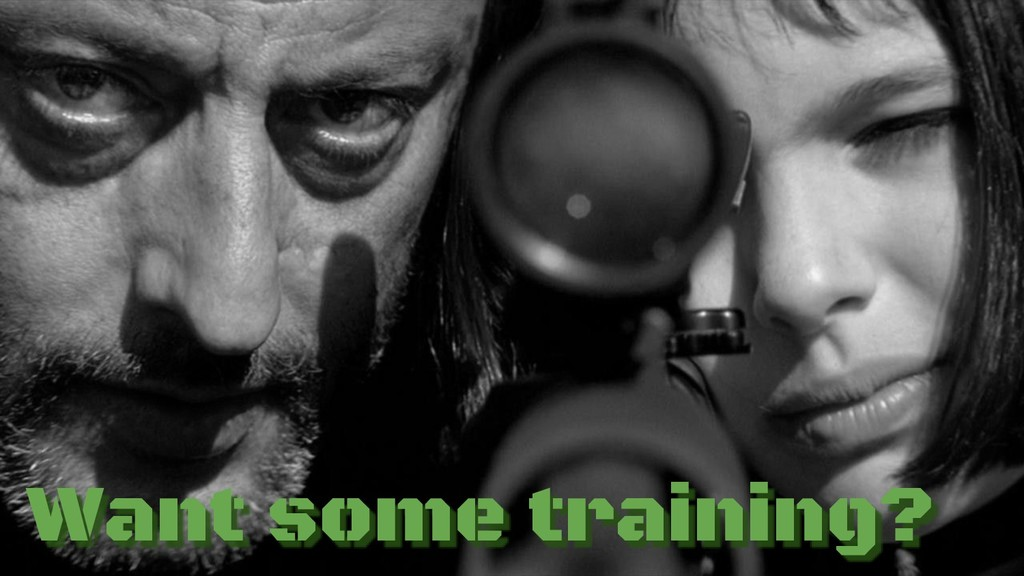 Want some training?
