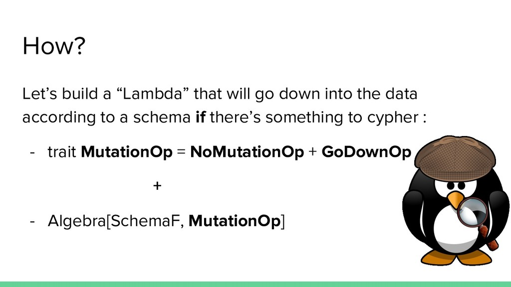 """How? Let's build a """"Lambda"""" that will go down i..."""