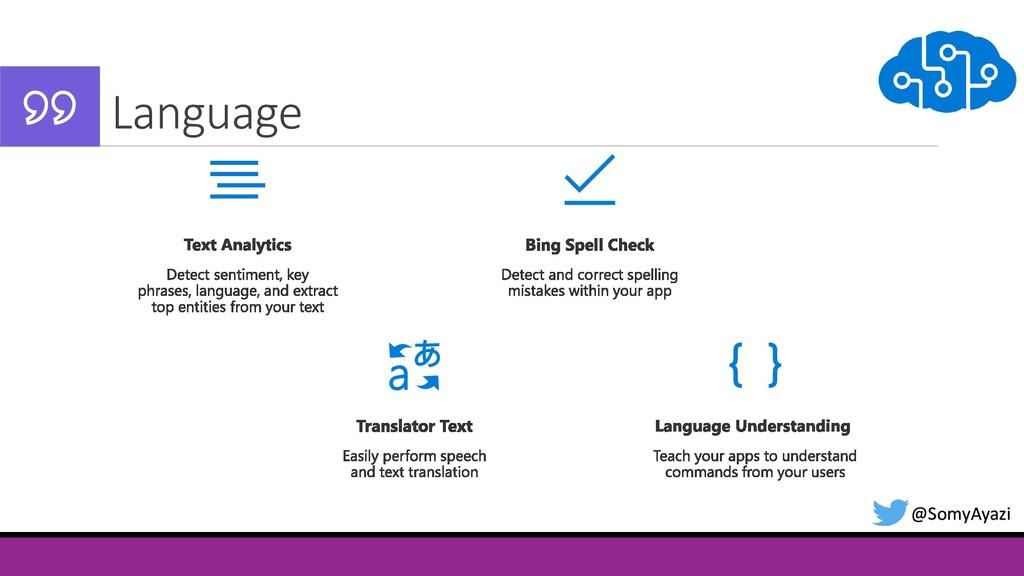 Language @SomyAyazi