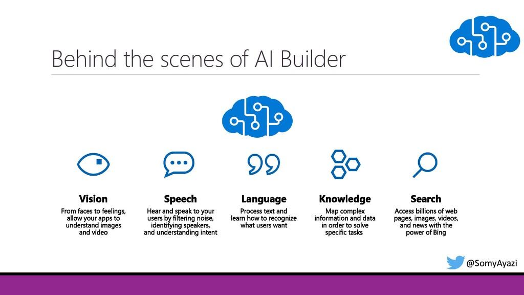 @SomyAyazi Behind the scenes of AI Builder