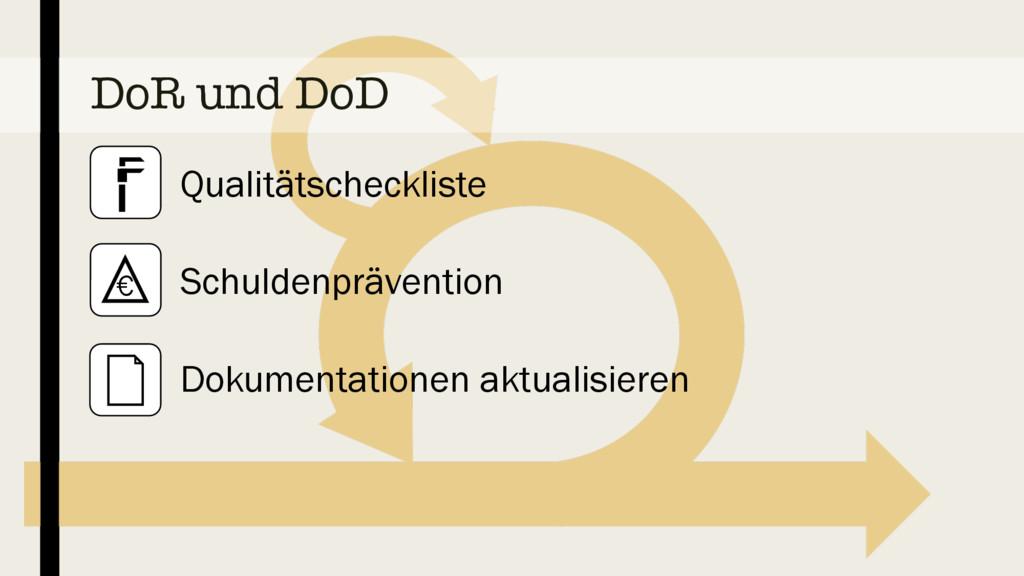DoR und DoD Qualitätscheckliste Schuldenprävent...