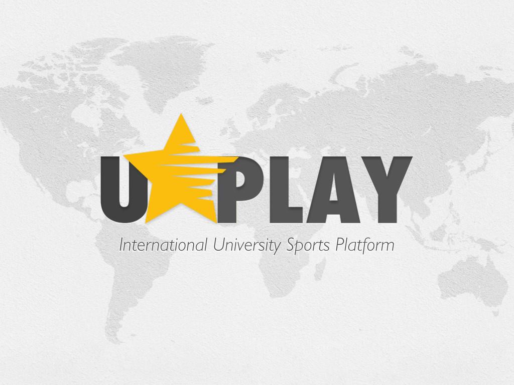 International University Sports Platform