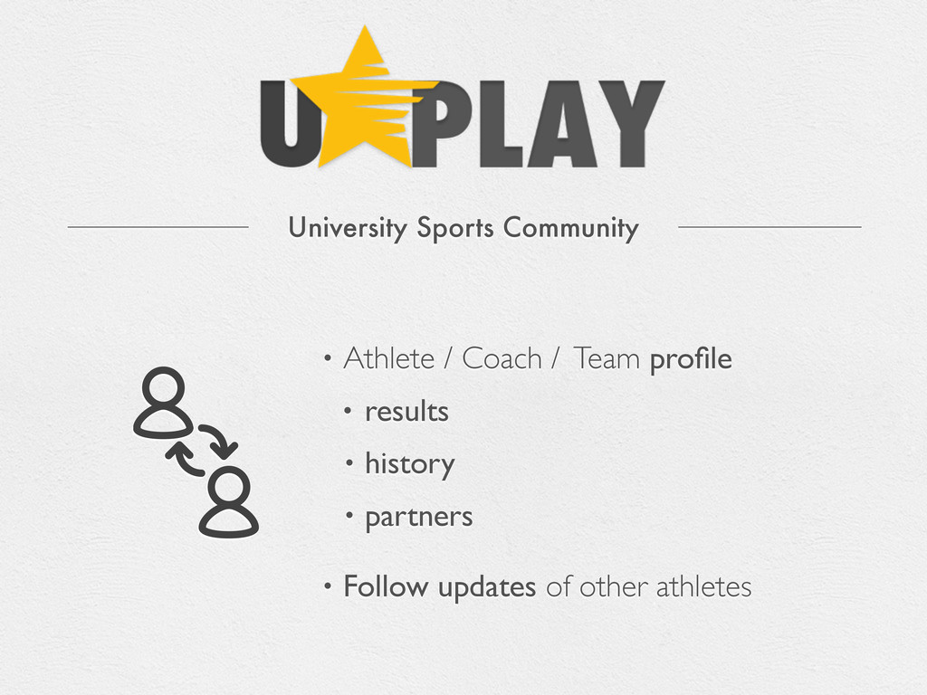 University Sports Community • Athlete / Coach /...