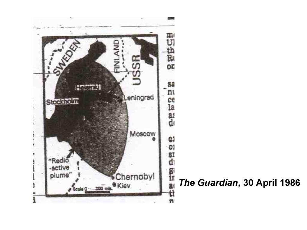 The Guardian, 30 April 1986