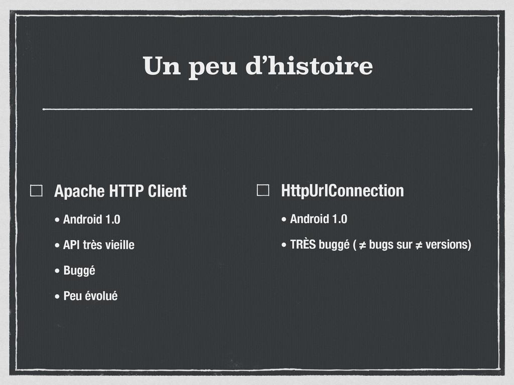 Un peu d'histoire Apache HTTP Client • Android ...