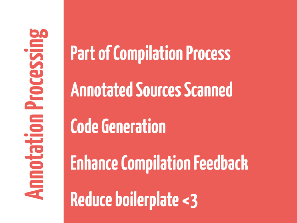 Annotation Processing Part of Compilation Proce...