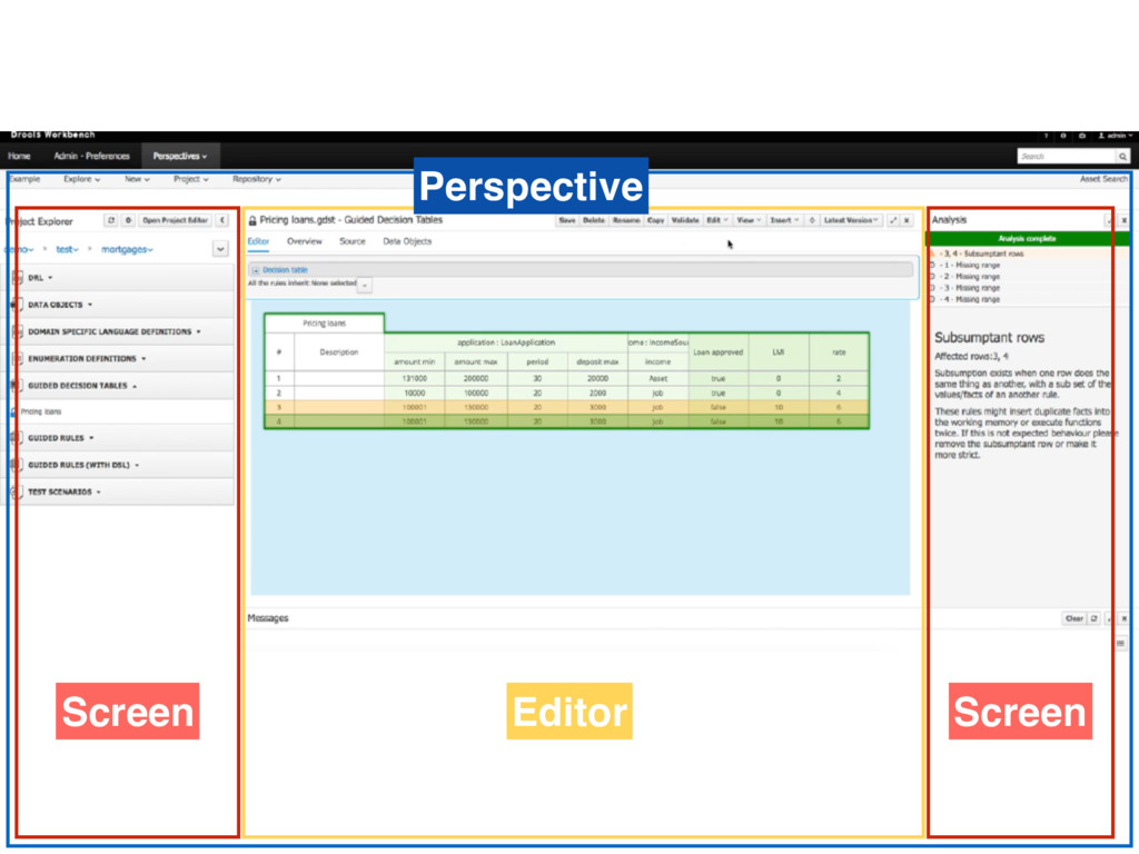Perspective Editor Screen Screen