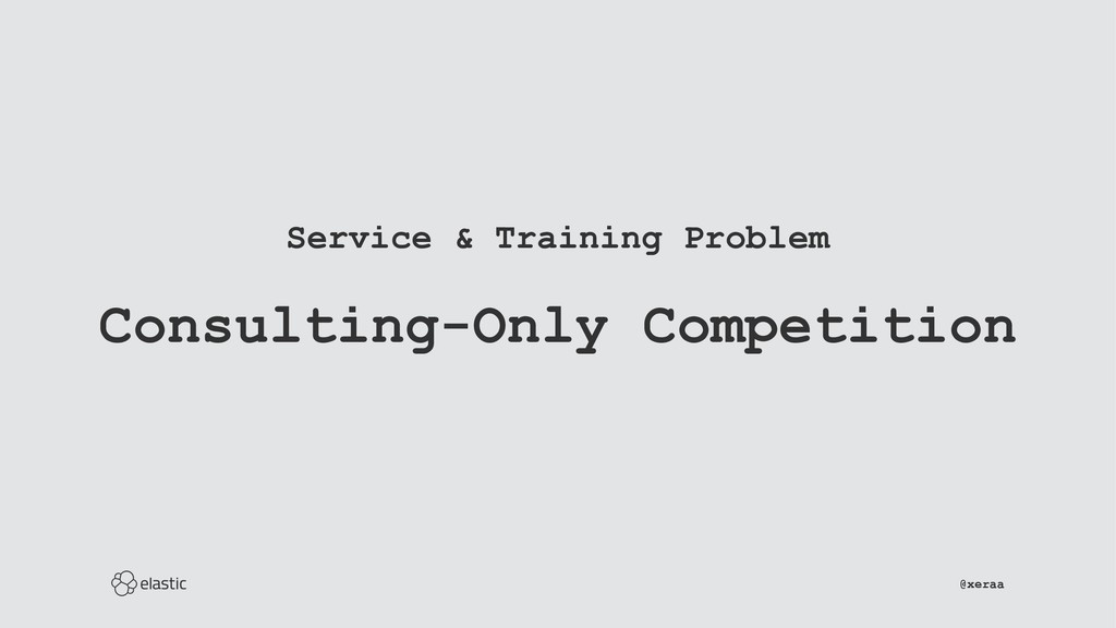 Service & Training Problem Consulting-Only Comp...