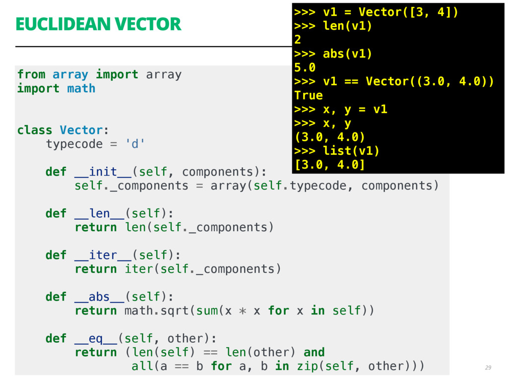 from array import array import math class Vecto...