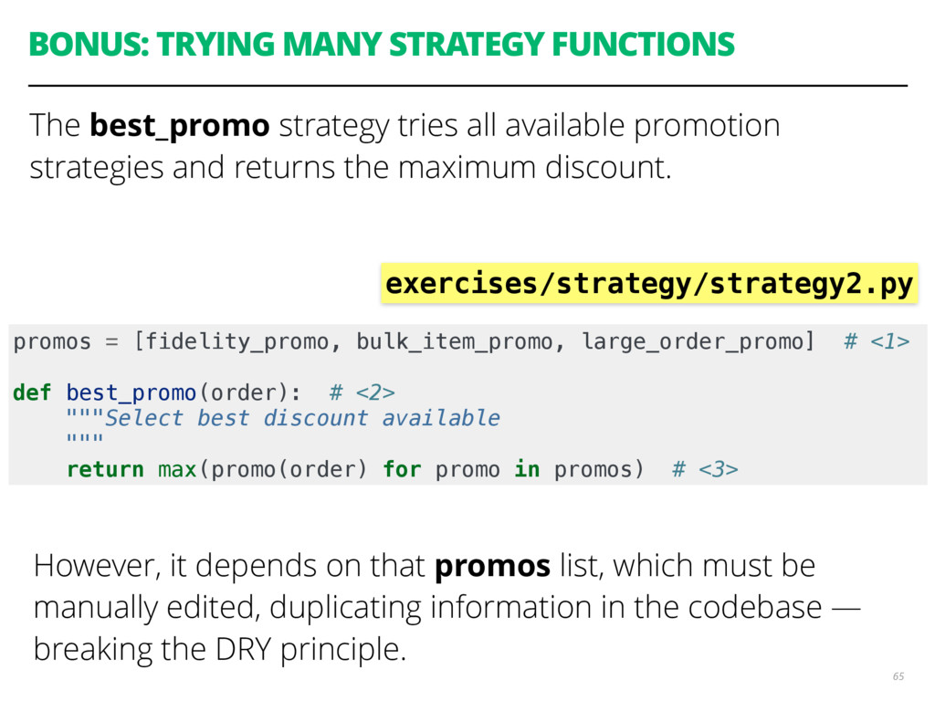 BONUS: TRYING MANY STRATEGY FUNCTIONS The best_...