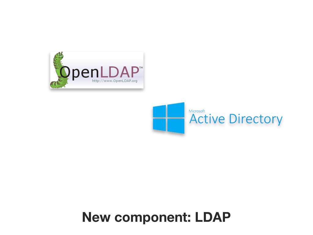 New component: LDAP
