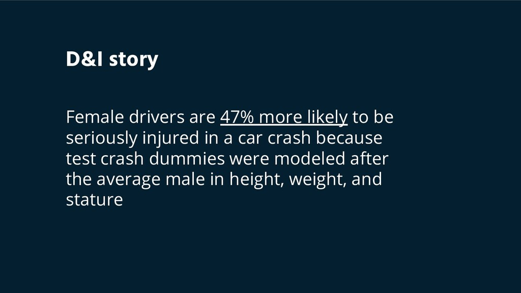 Female drivers are 47% more likely to be seriou...
