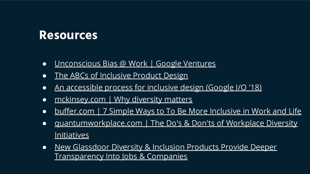 ● Unconscious Bias @ Work | Google Ventures ● T...