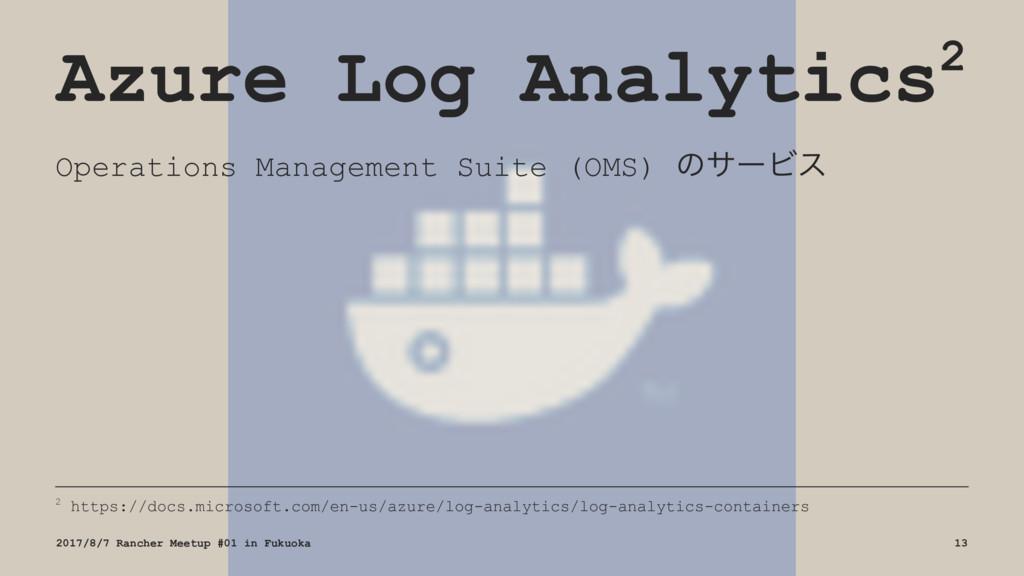 Azure Log Analytics2 Operations Management Suit...