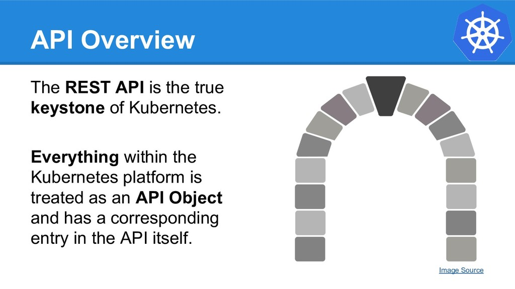 API Overview The REST API is the true keystone ...