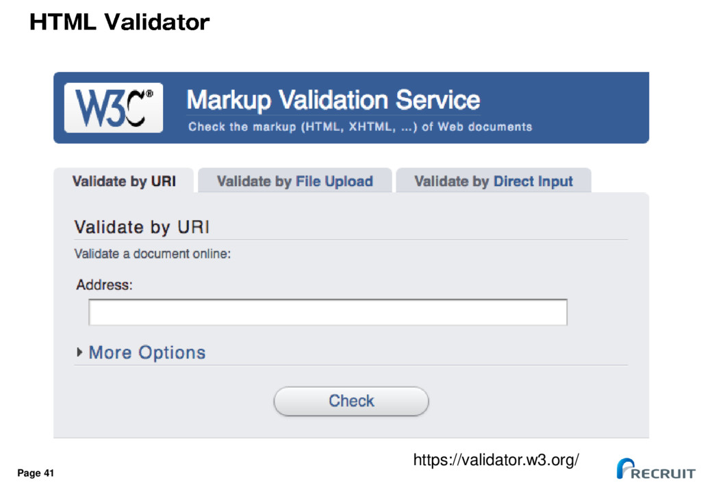 Page 41 https://validator.w3.org/