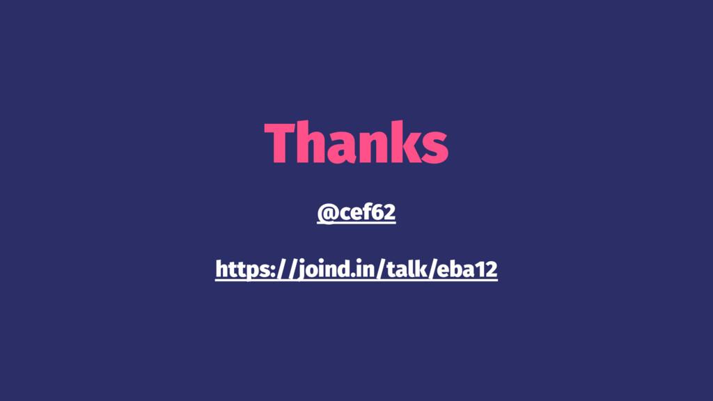 Thanks @cef62 https://joind.in/talk/eba12