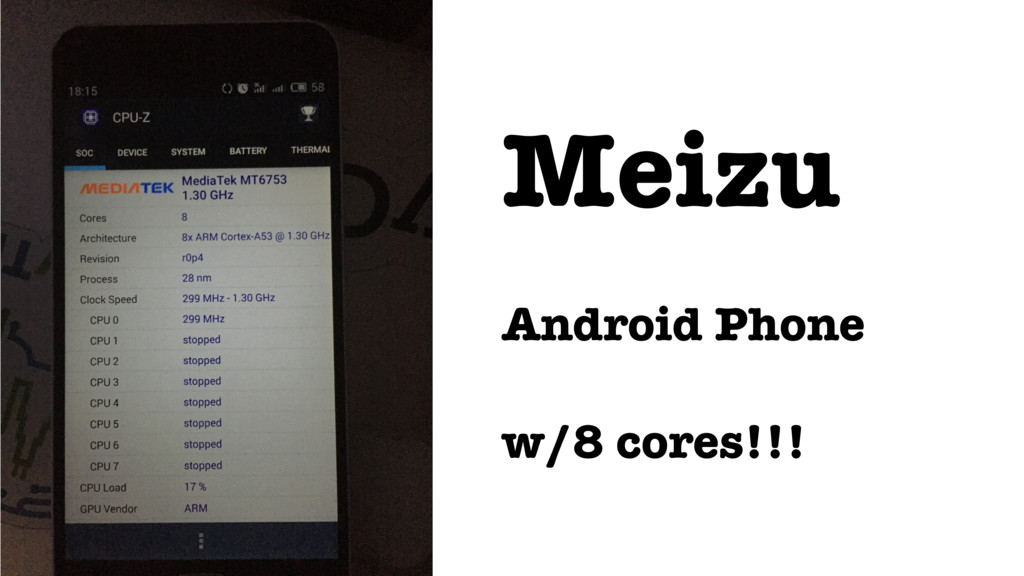 Meizu Android Phone w/8 cores!!!