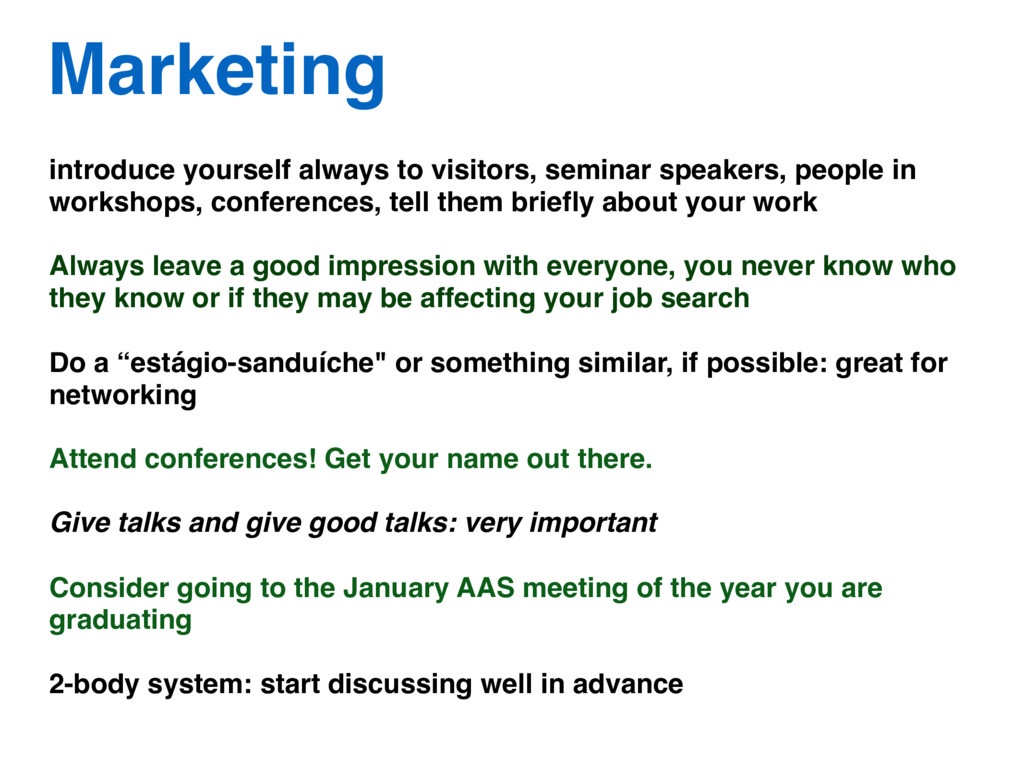 introduce yourself always to visitors, seminar ...