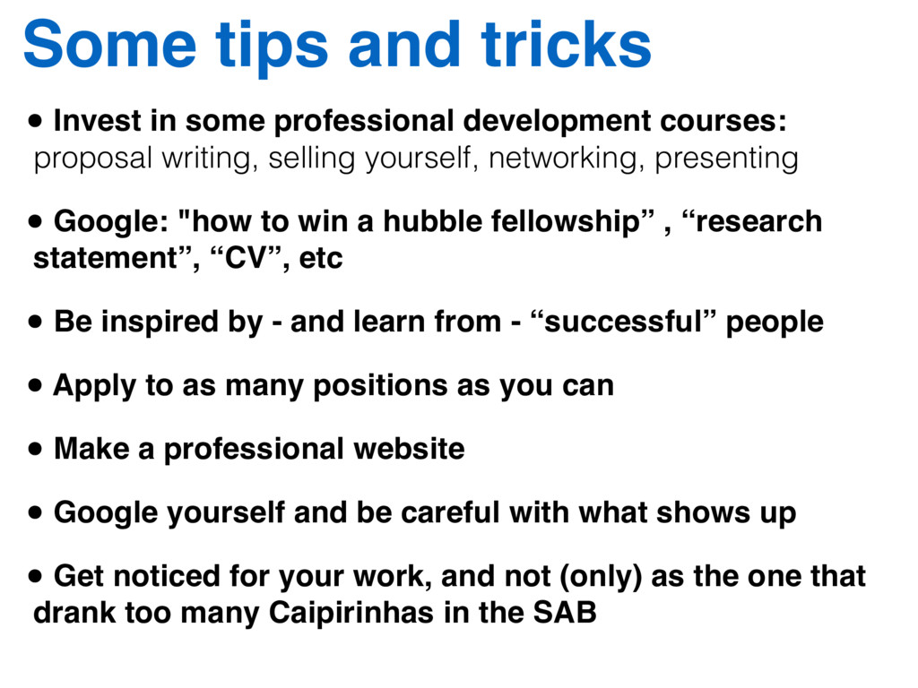 • Invest in some professional development cours...