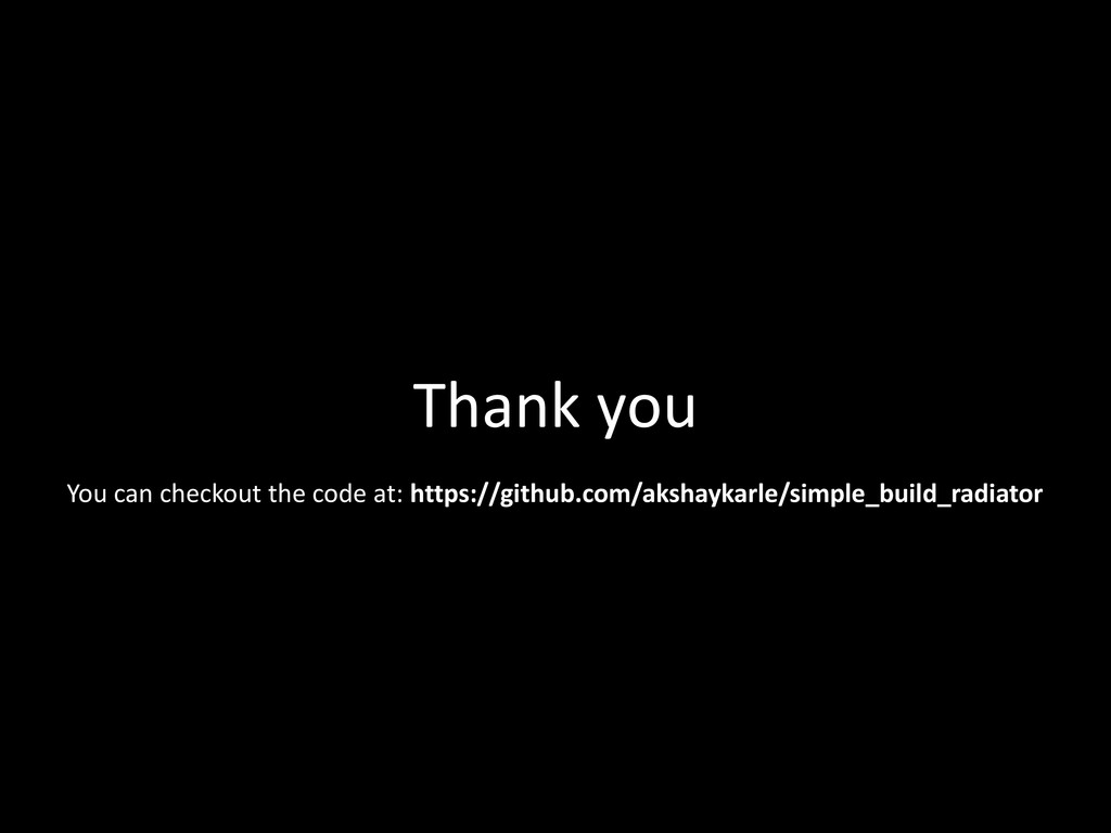 Thank you You can checkout the code at: https:/...