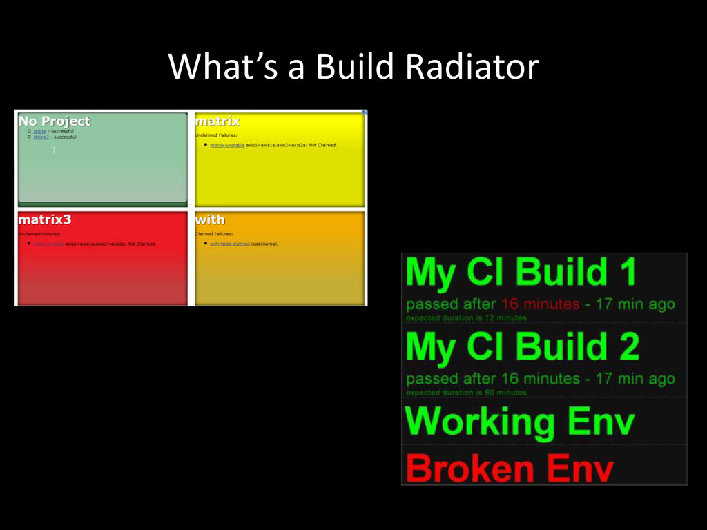 What's a Build Radiator