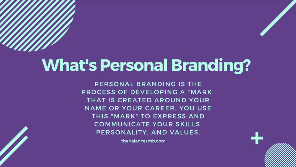 What's Personal Branding? PERSONAL BRANDING IS ...