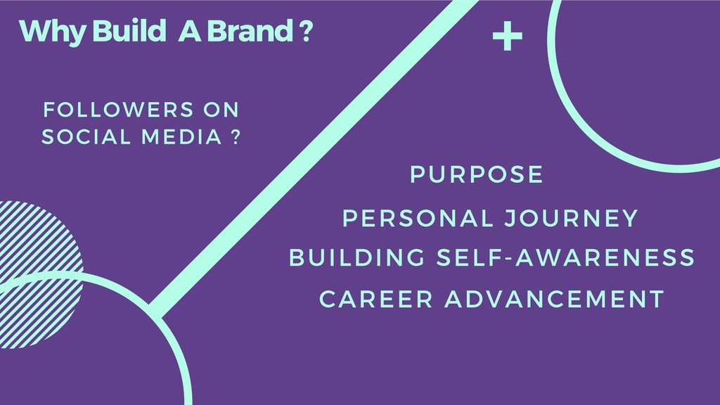 Why Build A Brand ? FOLLOWERS ON SOCIAL MEDIA ?...