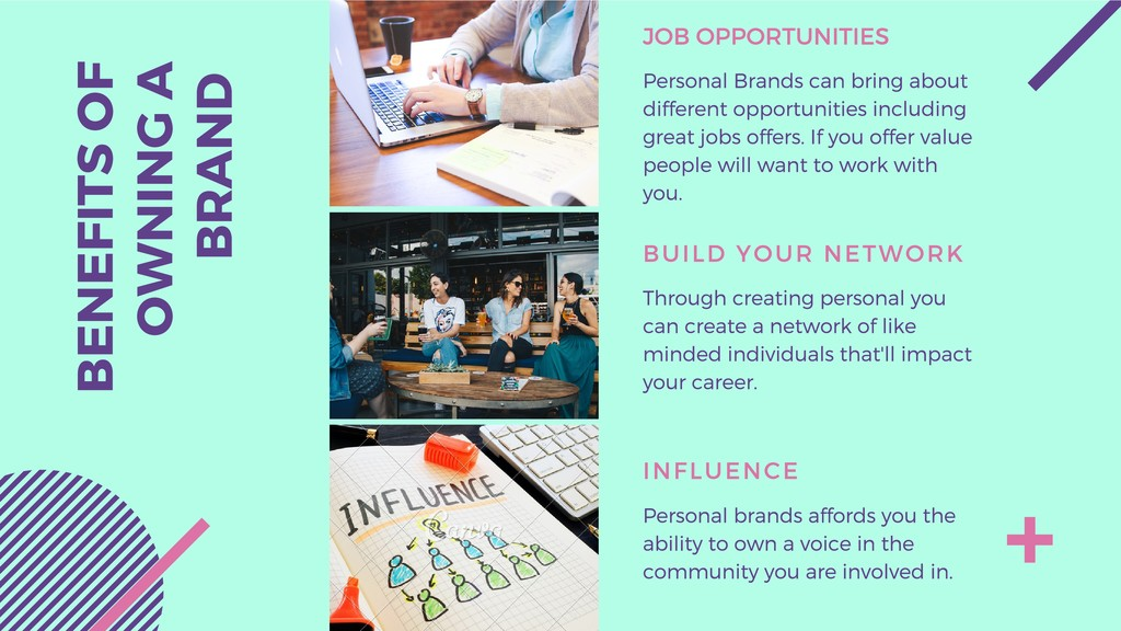 JOB OPPORTUNITIES Personal Brands can bring abo...